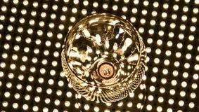 Vetro di vino vuoto Fotografia Stock