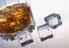 Vetro di whiskey Immagine Stock