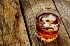 Vetro di whiskey Fotografia Stock