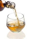 Vetro di whisky Fotografia Stock