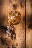 Vetro di whisky Fotografie Stock