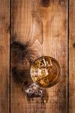 Vetro di whisky Immagini Stock