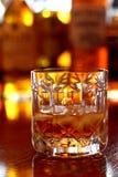 Vetro di whisky C Immagini Stock