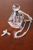 Vetro e diamanti Fotografie Stock Libere da Diritti