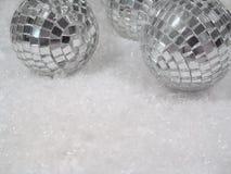 Vetro e ghiaccio Fotografia Stock