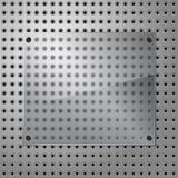 Vetro ed acciaio Fotografie Stock Libere da Diritti