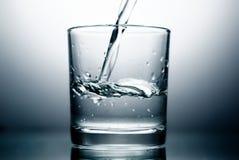 Vetro ed acqua Immagine Stock Libera da Diritti
