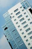 Vetro esterno di costruzione Immagine Stock Libera da Diritti