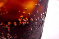 Vetro freddo del coke Immagine Stock
