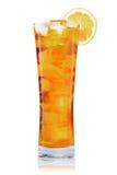 Vetro ghiacciato del tè Fotografie Stock Libere da Diritti