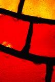 Vetro macchiato Fotografia Stock