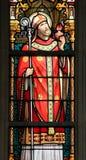 Vetro macchiato - St Augustine Immagine Stock Libera da Diritti