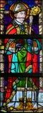 Vetro macchiato - St Augustine Fotografia Stock Libera da Diritti