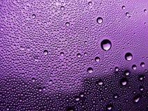Vetro macchiato viola Fotografia Stock