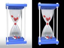 Vetro medicinale della pillola Immagine Stock