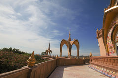 Vetro nascosto Pha di Pha (Wat Pha Kaew) immagine stock