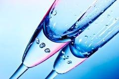 Vetro per champagne Fotografia Stock