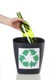 Vetro per riciclare Immagini Stock Libere da Diritti