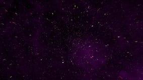 Vetro porpora 2 della galassia illustrazione di stock