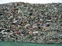 Vetro riciclato Immagine Stock