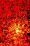 Vetro rosso dell'inferno Immagini Stock Libere da Diritti