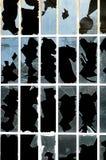 Vetro rotto Fotografie Stock Libere da Diritti