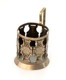 Vetro-supporto metallico antichissimo. Immagini Stock Libere da Diritti