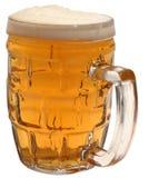 Vetro, una tazza di birra, birra fotografie stock libere da diritti