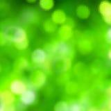 Vetro verde Fotografie Stock