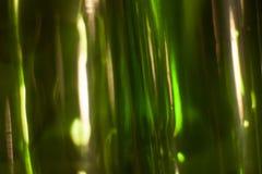 Vetro verde della priorità bassa Fotografia Stock