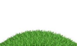 Vetro verde isolato sul bianco Fotografia Stock Libera da Diritti