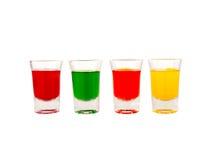 Vetro, vetro colorato Immagini Stock Libere da Diritti