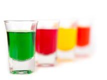 Vetro, vetro colorato Fotografia Stock