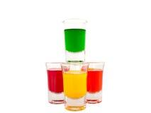 Vetro, vetro colorato Immagine Stock