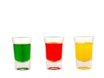 Vetro, vetro colorato Fotografie Stock Libere da Diritti