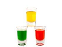 Vetro, vetro colorato Immagini Stock