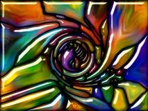 Vetro virtuale Fotografie Stock