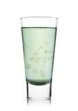 Vetro vitamine della bevanda di salute di vera dell'aloe delle Ve Immagine Stock
