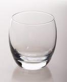 Vetro vuoto del whiskey Immagine Stock Libera da Diritti