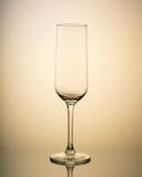 Vetro vuoto di vetro sottile Fotografia Stock Libera da Diritti