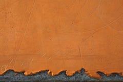 Vetroresina arancione Fotografia Stock Libera da Diritti