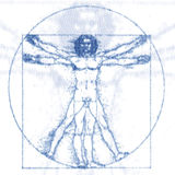 Vetruvian man Royalty Free Stock Photo