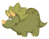 Vette dinosaurus Stock Afbeeldingen