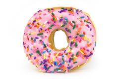 Vette Doughnut - Ongezond Voedsel Royalty-vrije Stock Afbeeldingen