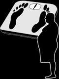 Vette mens Vector Illustratie