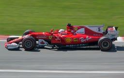 Vettel 2017 kanadyjczyk Gran Prix Fotografia Stock