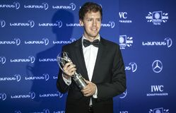 Vettel Laureus Awards Stock Photography