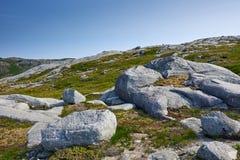 Vettfjellet, Sandnessjoen, Noorwegen Royalty-vrije Stock Fotografie