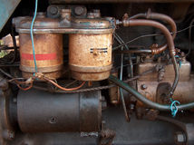 Vettige Motor royalty-vrije stock foto's