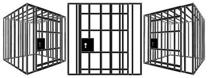 Vettore 01 della gabbia Immagine Stock Libera da Diritti